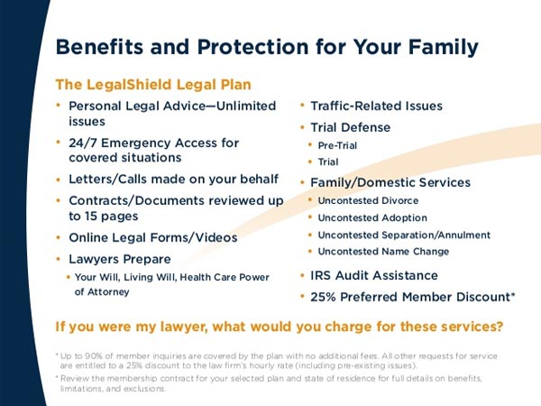 legalshield benefits and protection