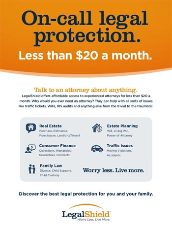 Legal Protection And Identity Theft Plans